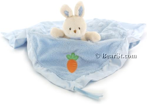 Gund Buffy Blankie, blue