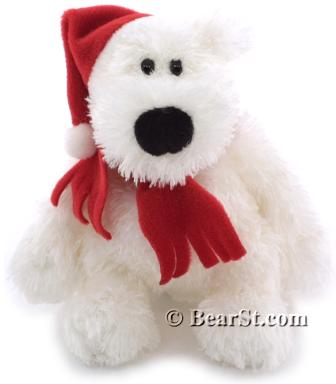 Gund Schlepp Ornament, red